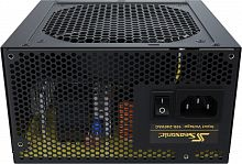 Блок питания Seasonic ATX 500W CORE GX-500 (SSR-500LX) 80+ gold (24+4+4pin) APFC 120mm fan 6xSATA Cab Manag RTL