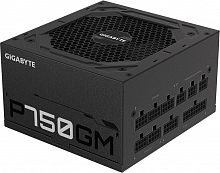 Блок питания Gigabyte ATX 750W GP-P750GM 80+ gold 24+2x(4+4) pin APFC 120mm fan 8xSATA Cab Manag RTL