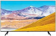 "Телевизор LED Samsung 55"" UE55TU8000UXRU 8 черный/Ultra HD/1000Hz/DVB-T2/DVB-C/DVB-S2/USB/WiFi/Smart TV (RUS)"